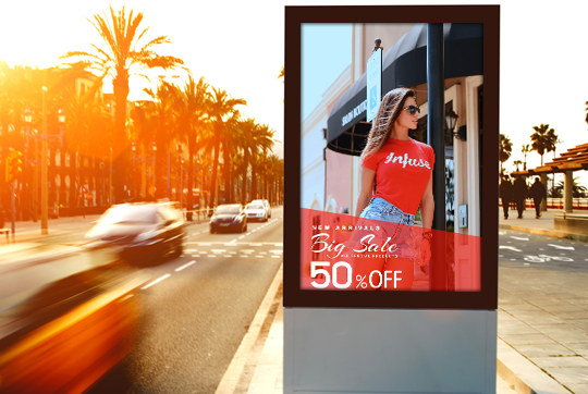 Digital Out of Home Digital Signage promotions and discounts