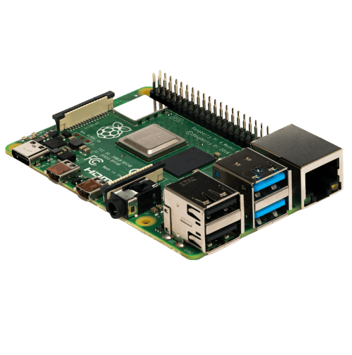raspberry pi 4 motherboard